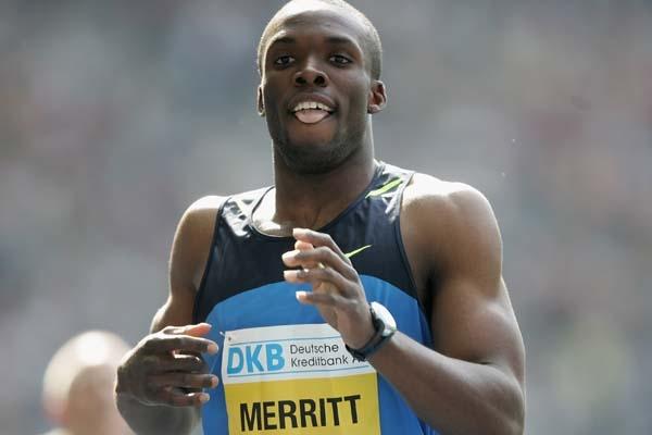 Лашоун Мэрритт одержал уверенную победу в забеге на 400 м на тринадцатом этапе Бриллиантовой лиги +Видео