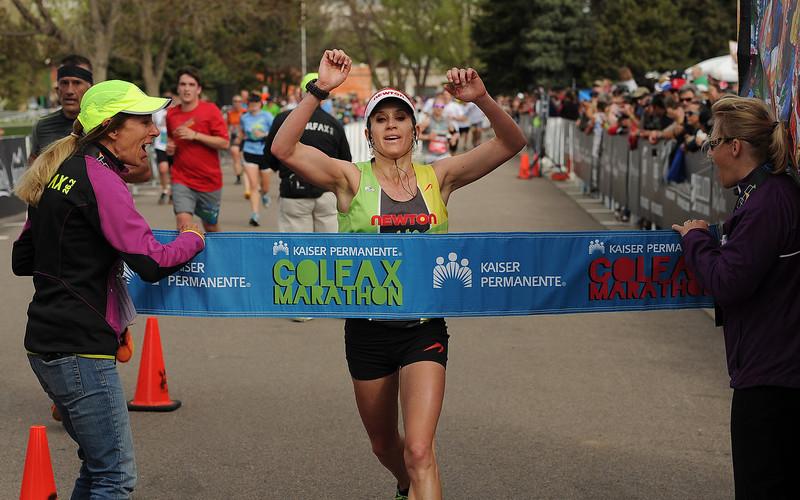На Гавайях женщина опередила мужчин в марафоне