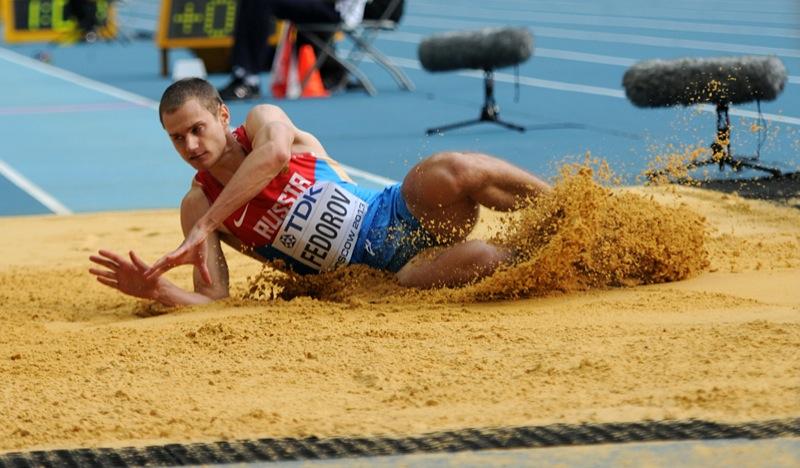 Алексей Федоров занял третье место в тройном прыжке на этапе Мирового вызова в Загребе