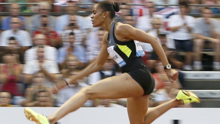Калиса Спенсер  побеждает в забеге на 400 м с барьерами на заключительном этапе Бриллиантовой лиги + Видео