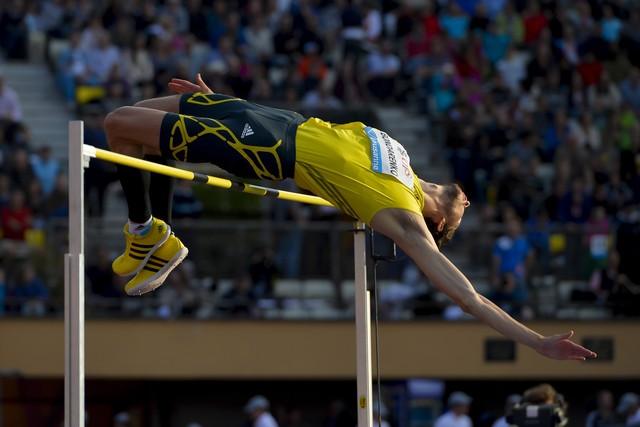 Богдан Бондаренко победил в прыжках в высоту на этапе Мирового вызова в итальянском Риети