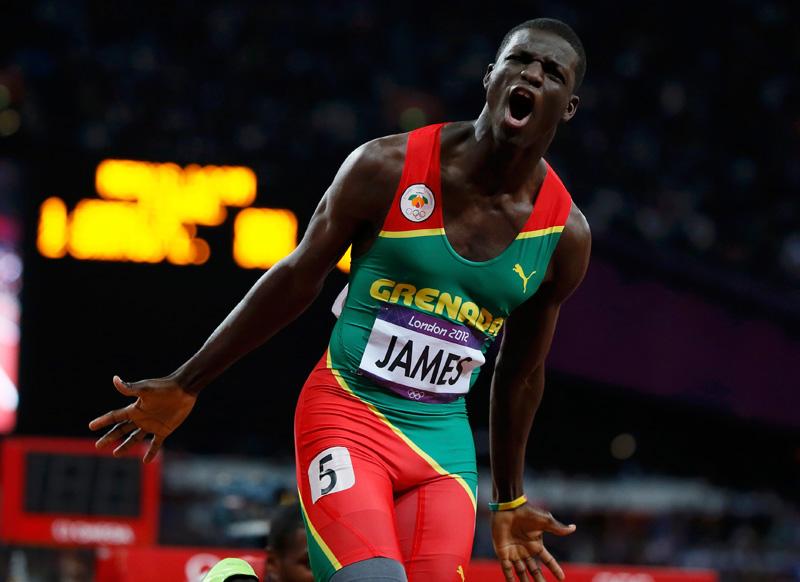 Кирани Джеймс настроен победить на Летних Олимпийских играх 2016 в Рио-де-Жанейро