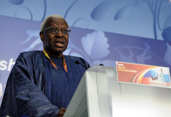 Ламин Диак подтвердил, что уйдет с поста президента IAAF в 2015 году