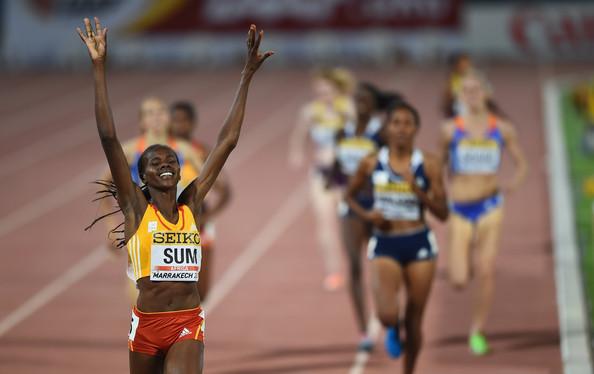 Юнис Сум победительница забега на 800 м на этапе Бриллиантовой лиги в Юджине + Видео