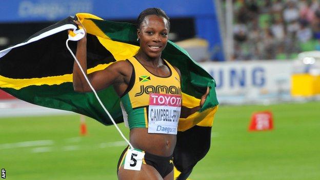 Вероника Кэмпбелл-Браун – победительница забега на 100 м на Континентальном кубке в Марракеше + Видео