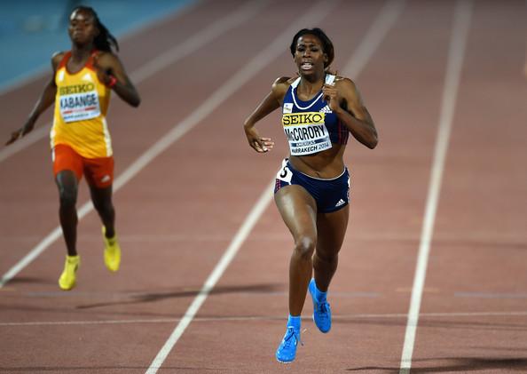 Франсена Маккорори побеждает в забеге на 400 м на Континентальном кубке 2014 + Видео