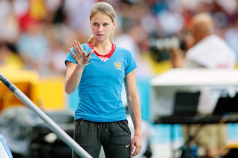 Ангелина Жук-Краснова – вторая на Континентальном кубке 2014 в прыжках с шестом