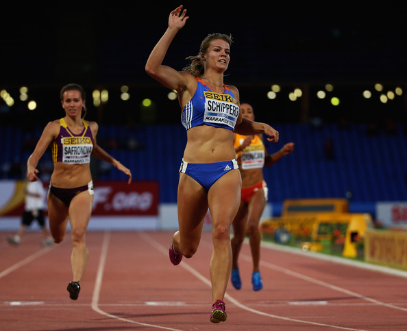 Дафна Шипперс – победительница забега на 200 м на Континентальном кубке 2014 + Видео