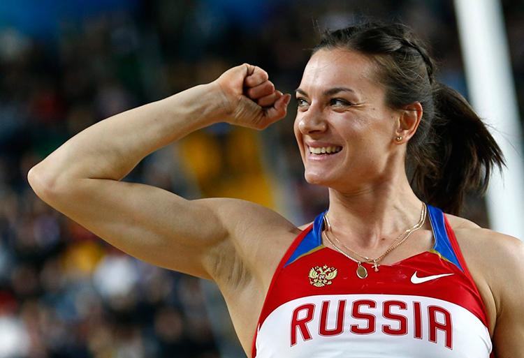 Елена Исинбаева выйдет из декрета в конце сентября