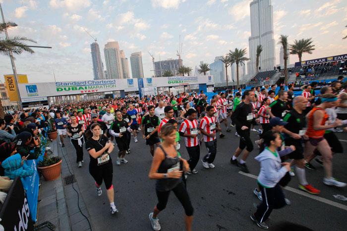 Марафон в Дубае ждет рекордное число участников