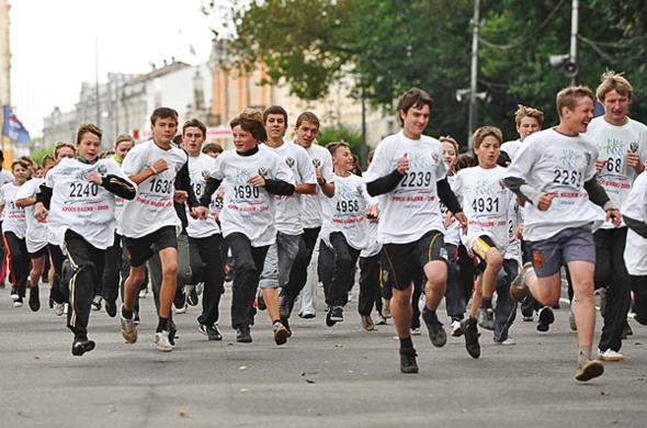 День бега пройдет в 83 регионах России
