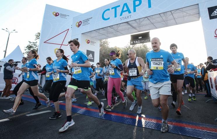 Московский марафон собрал 13 000 участников