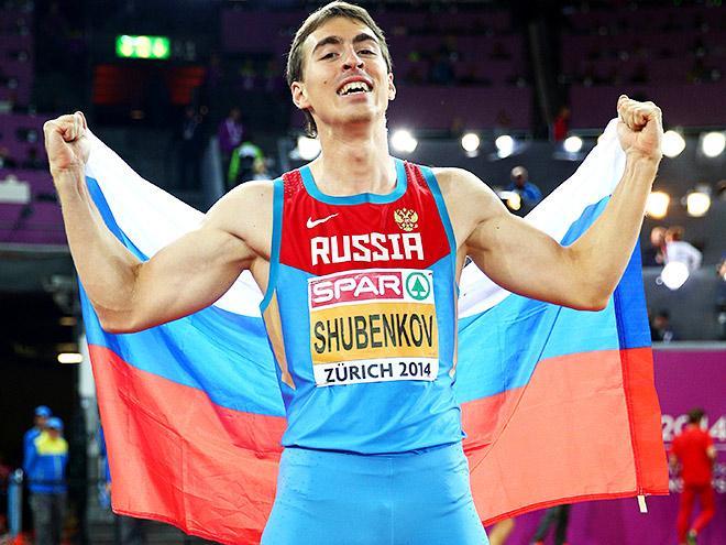 Сергей Шубенков  - самый стабильный белый спринтер