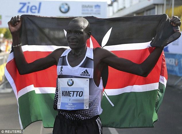 Деннис Киметто побил мировой рекорд на Берлинском марафоне + Видео