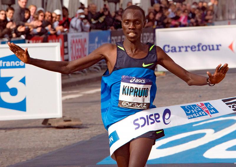 Чемпион франкфуртского марафона Винсент Кипруто приедет защищать свой титул