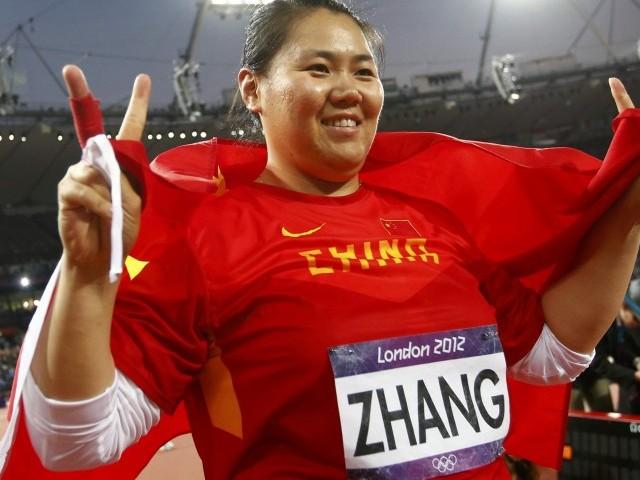 Бронзовый призер Олимпийских Игр в метании молота китаянка Чжан Вэньсю поймана на допинге