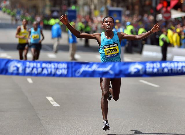 Чемпион Бостона-2013 эфиоп Лелиса Десиса примет участие в Нью-Йоркском марафоне