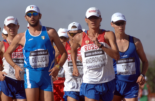 Трёхкратный чемпион России ходок Юрий Андронов дисквалифицирован на два года