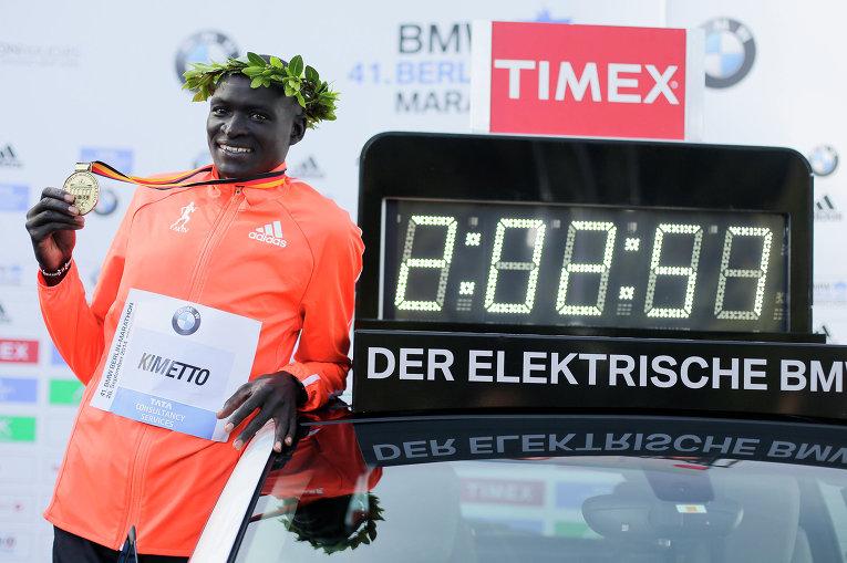 Первый забег после рекорда Деннис Киметто проведет в Херенберге