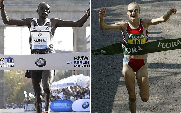 Мировые рекордсмены Деннис Киметто и Пола Редклифф примут участие в Монтферландском пробеге