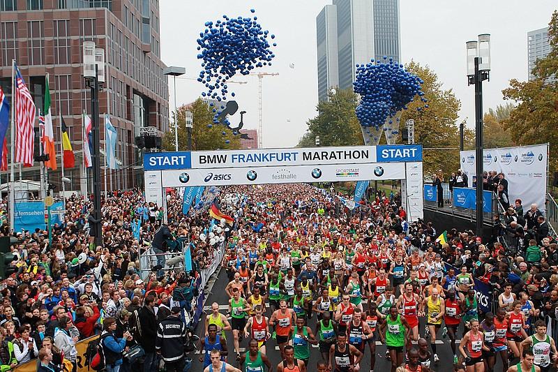 Марк Кипту и Аберу Кебеде выиграли марафон во Франкфурте
