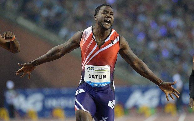 Джастин Гатлин выступит на дистанциях 100 и 200 м на чемпионате мира-2015 в Пекине