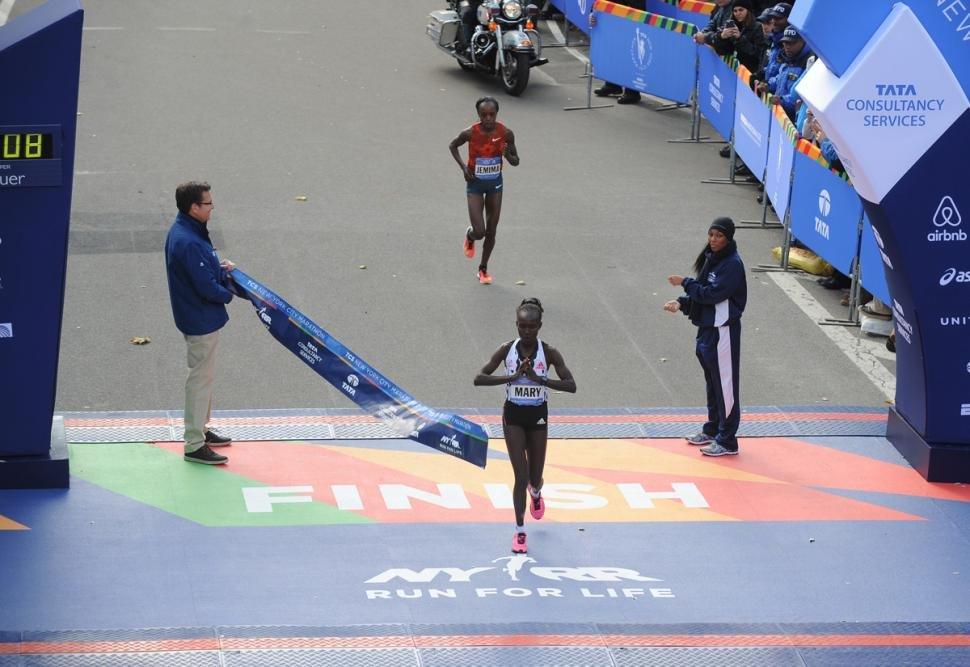 Мери Кейтани – победительница Нью-Йоркского марафона