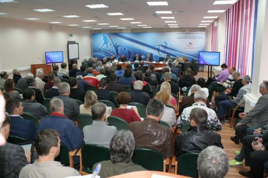 Состоялось ежегодное совещание тренеров сборной команды России по легкой атлетике