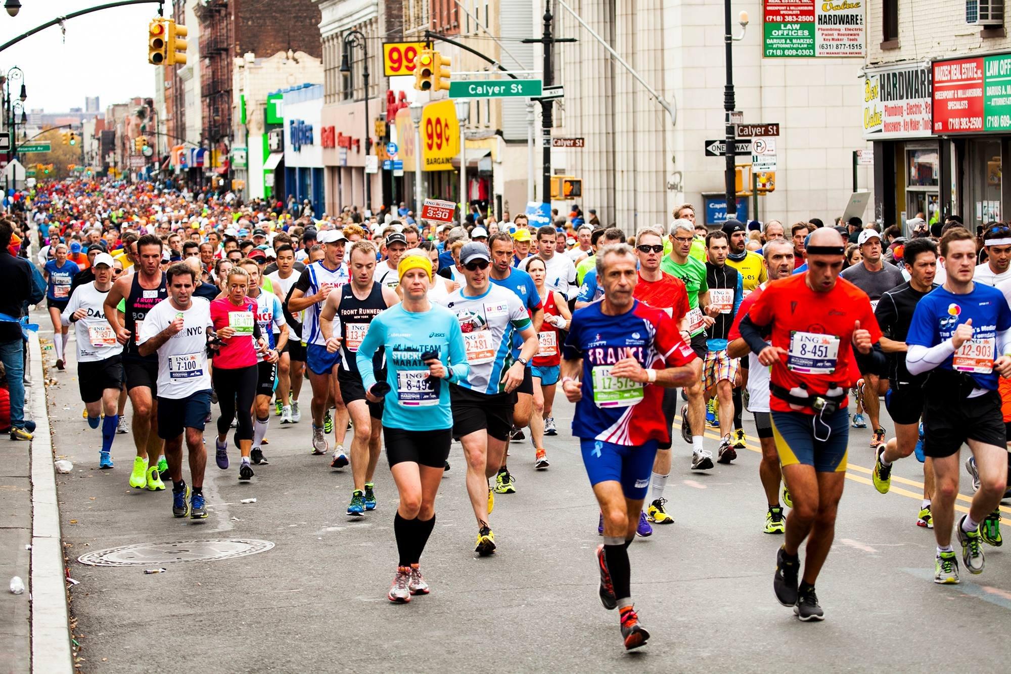 Нью-Йоркский марафон-2014: интересные факты + наши в Нью-Йорке