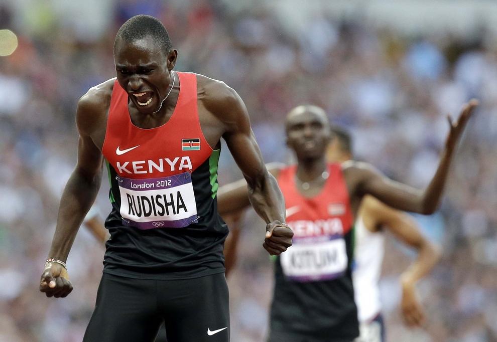 Давид Рудиша получил награду АНОК как лучший спортсмен лондонской Олимпиады