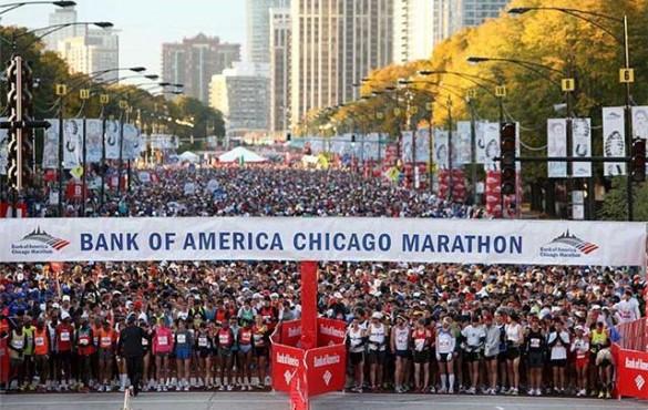 Chicago marathon 2014 full race