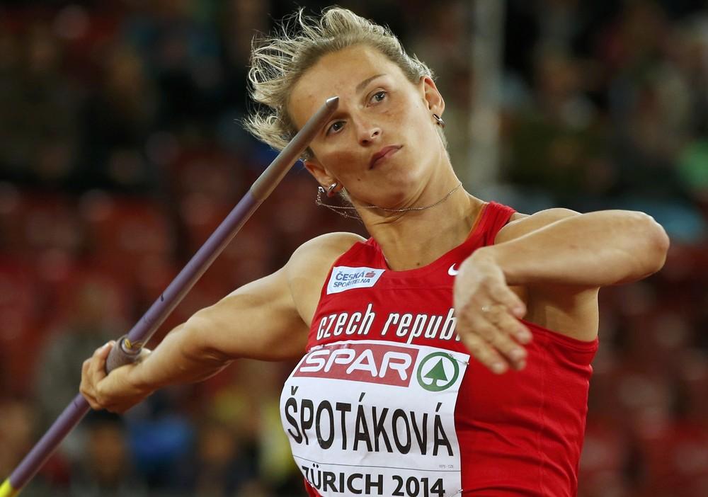 Барбора Шпотакова - легкоатлет года в Чехии