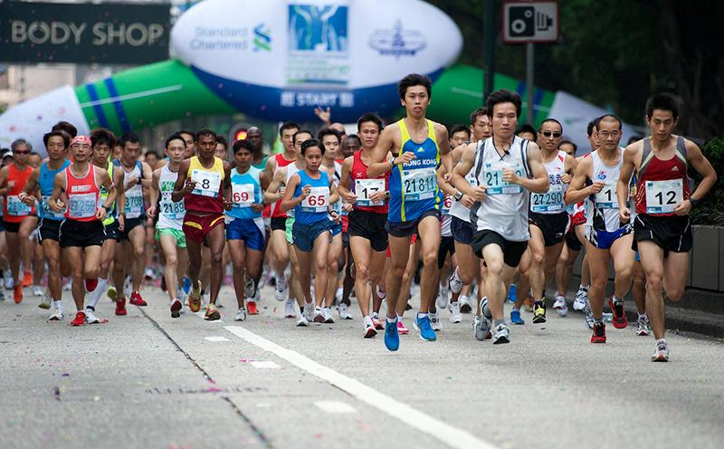 Маршрут марафона в Гонконге может быть изменен