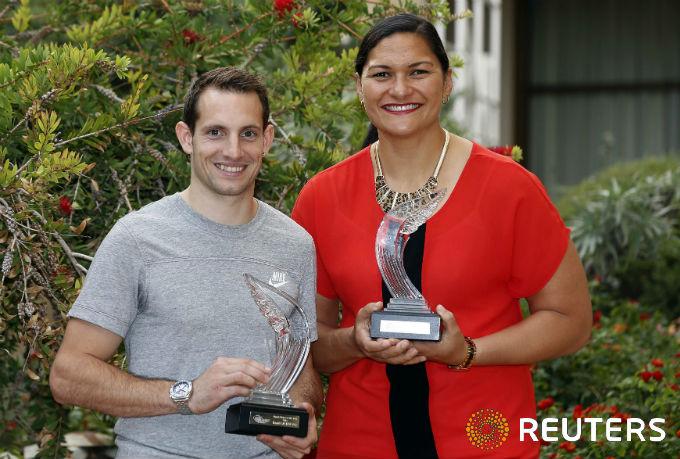 Рено Лавиллени и Валери Адамс — лучшие легкоатлеты года по версии IAAF