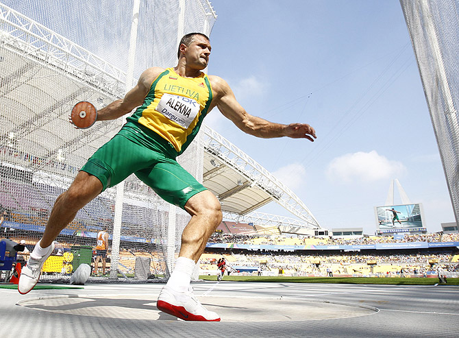 Виргилиус Алекна хочет попробовать выступить на Играх-2016 в Рио-де-Жанейро