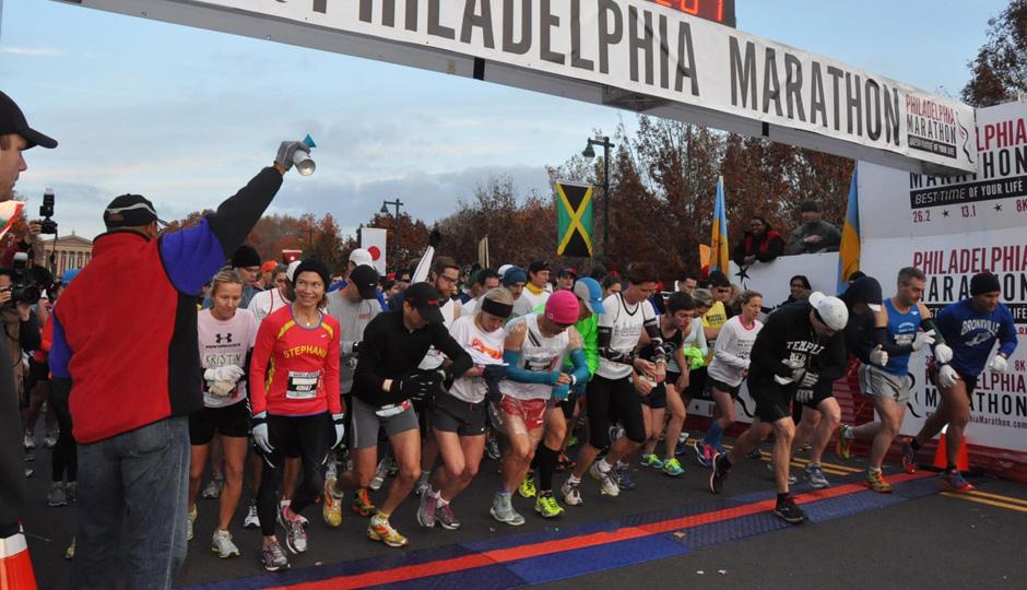 В Филадельфии состоялся традиционный марафон