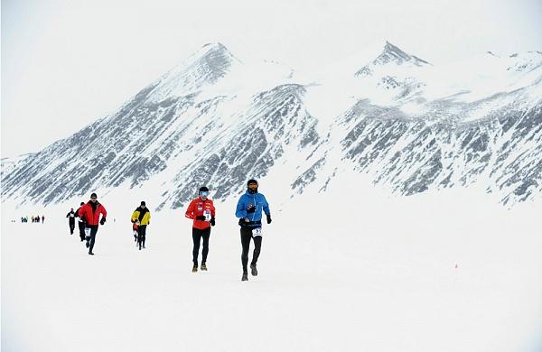 Самый холодный в мире марафон