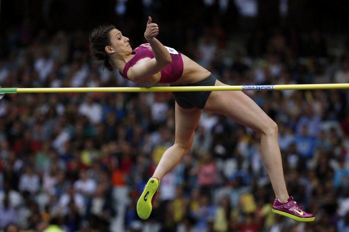 Мария Кучина - легкоатлетка года в России