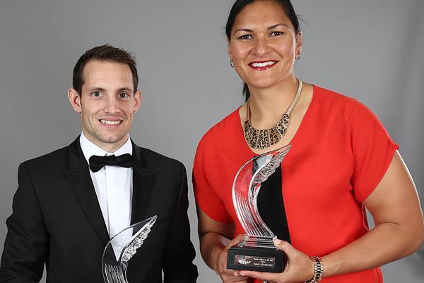 Рено Лавиллени и Валери Адамс - легкоатлеты года по версии Athletics International