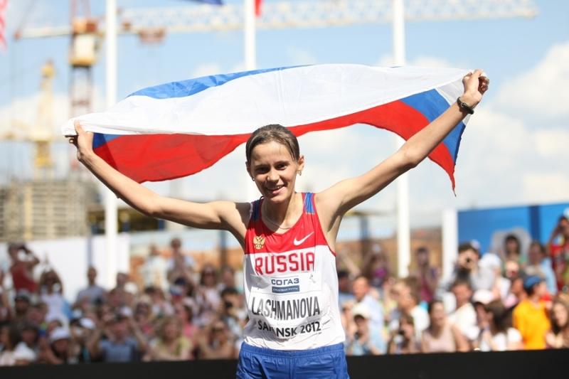 Елена Лашманова выступает вопреки дисквалификации