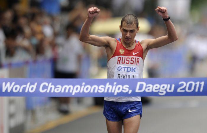 Чемпион мира по спортивной ходьбе Сергей Бакулин может быть дисквалифицирован