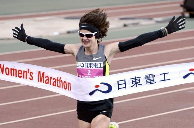 Татьяна Гамера-Шмырко – победительница марафона в Осаке