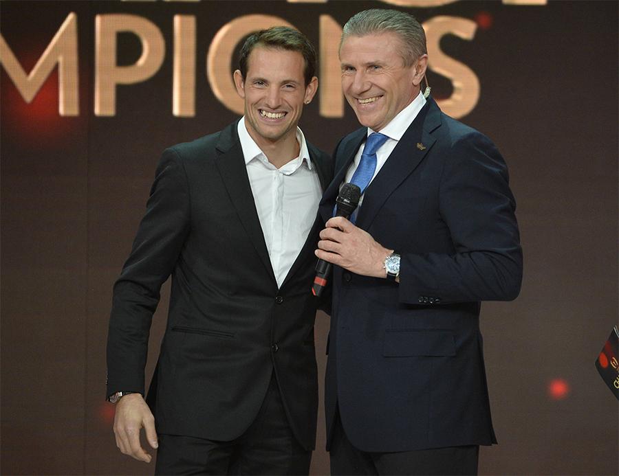 Рено Лавиллени поддержал кандидатуру Сергея Бубки на пост президента Международной Ассоциации Легкоатлетических Федераций