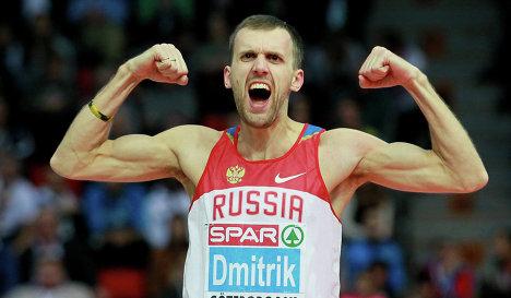 Алексей Дмитрик победил на «Кубке Москвы по прыжкам в высоту под музыку»