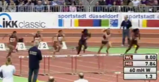 Women's 60 Metres Hurdles Final - Düsseldorf Meeting 2015