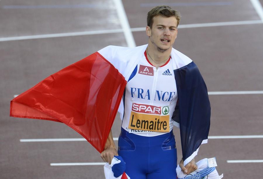Кристоф Лемэтр на дистанции 60 м дважды выбежал из 6.60