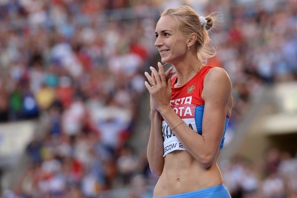 Светлана Школина стала второй на турнире по прыжкам в высоту в Словении
