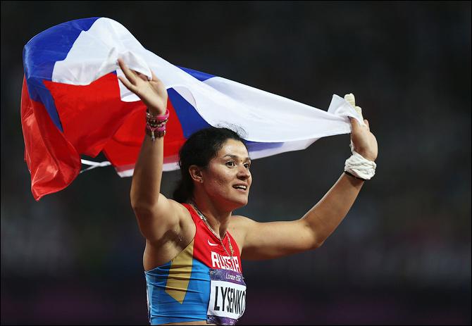 Олимпийская чемпионка Татьяна Лысенко стала мамой