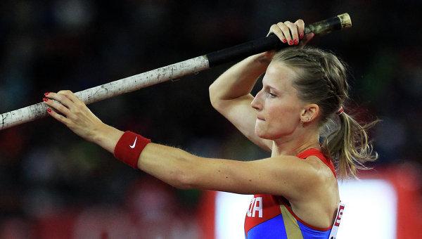 Анжелика Сидорова выиграла зимний чемпионат России в прыжках с шестом с личным рекордом