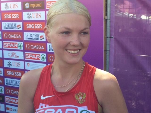 Эльмира Алимбекова выиграла чемпионат России по спортивной ходьбе на дистанции 20 км